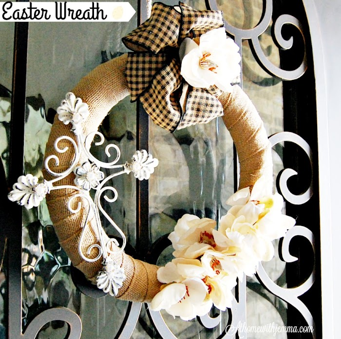 DIY~ Easter Wreath