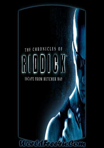 Poster Of The Chronicles of Riddick (2004) In Hindi English Dual Audio 300MB Compressed Small Size Pc Movie Free Download Only At worldfree4u.com