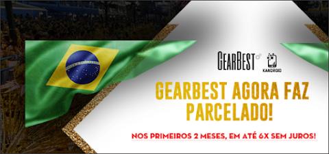 Você sabia que a Gearbest agora parcela? Confira as Promoções!