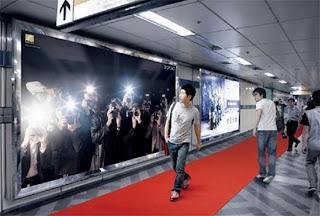 Publicidad en aeropuerto
