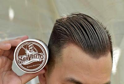 Suavecito Pomade Wax Rambut Warna - Coklat