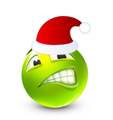 Christmas Smiley Icon 29