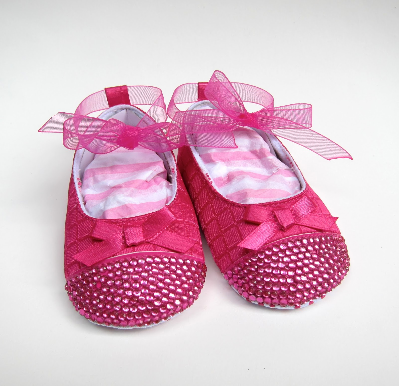 Crystal Baby Shoes Uk