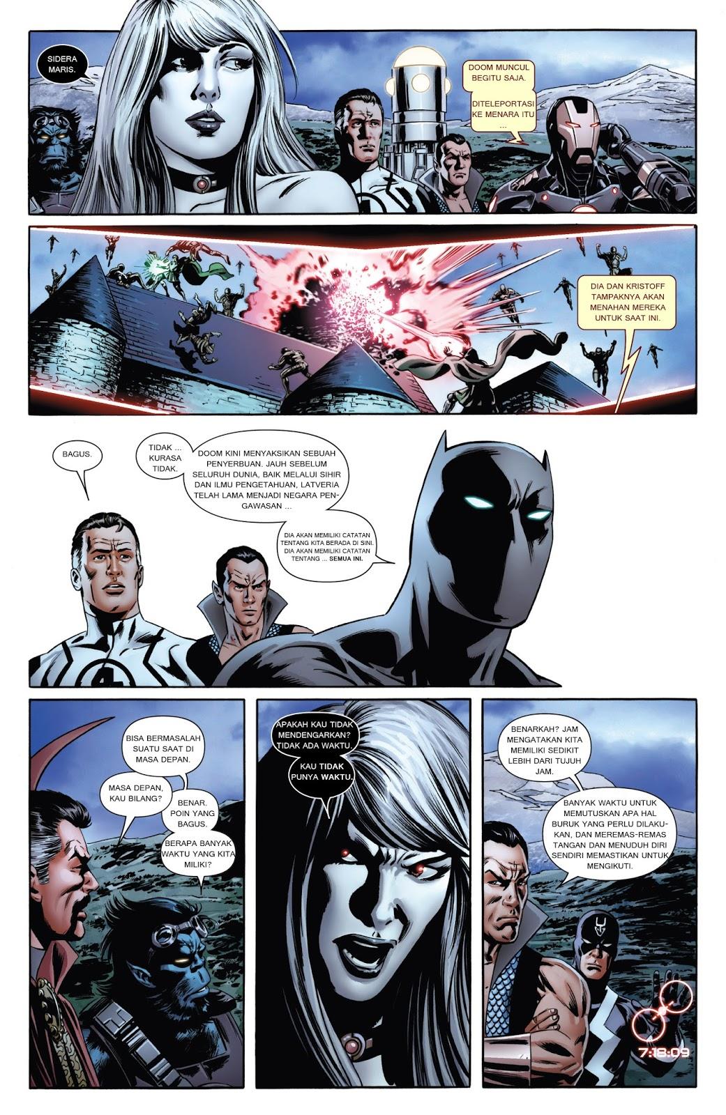 komik amerika bahasa indonesia: new avengers #6