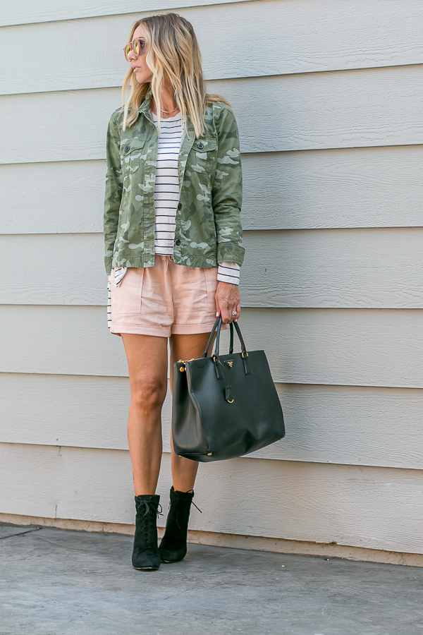 cute summer to fall transitional outfit parlor girl