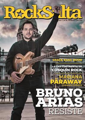 Esta semana aparecerá el número 25 de la revista Rock Salta b9b5354dcb1