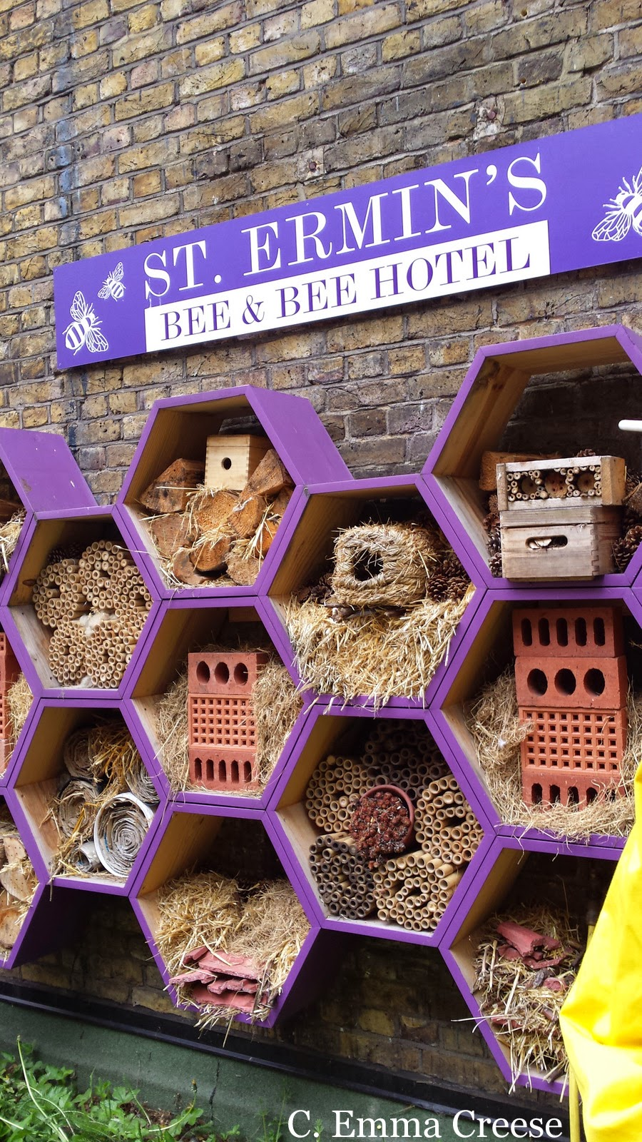 Urban Beekeeping at St Ermin's Hotel Westminster