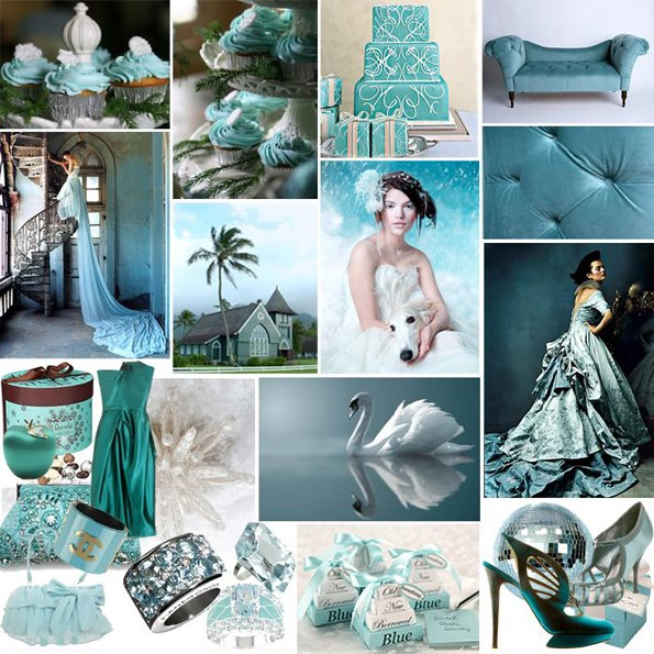 Teal My Beach Wedding Favorite Color