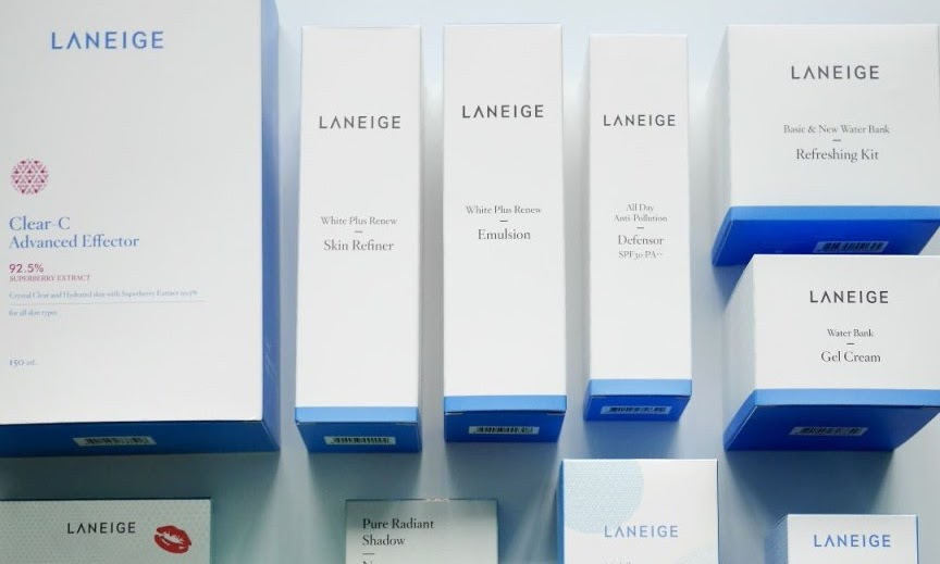 My 2016 Laneige Haul and 2 newly launched Laneige products!