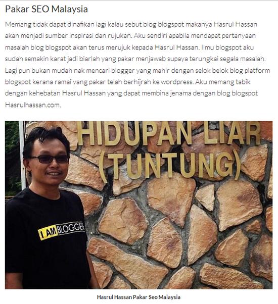 Pakar SEO Malaysia - Hasrul Hassan (www.hasrulhassan.com)