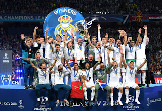 Champions League final - Real Madrid Wins against Liverpool FC 3 - 1