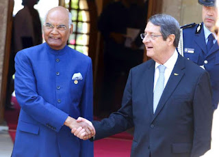 India and Cyprus sign 2 MoUs