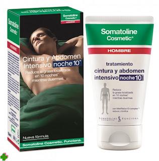 Somatoline Cosmetic Hombre tratamiento cintura y abdomen Noche 10