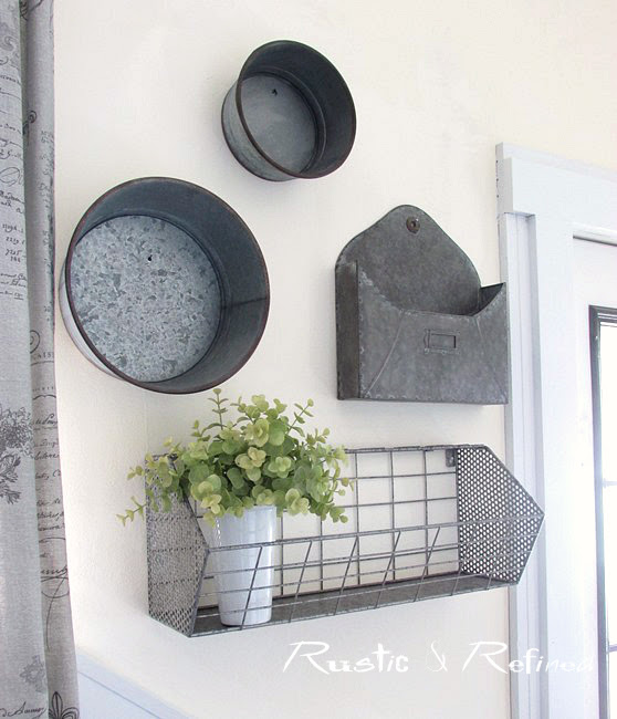 Adding a modern look to your home decor.