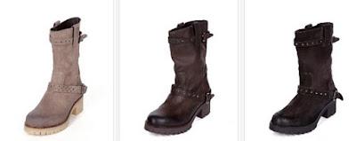 botas de piel casual