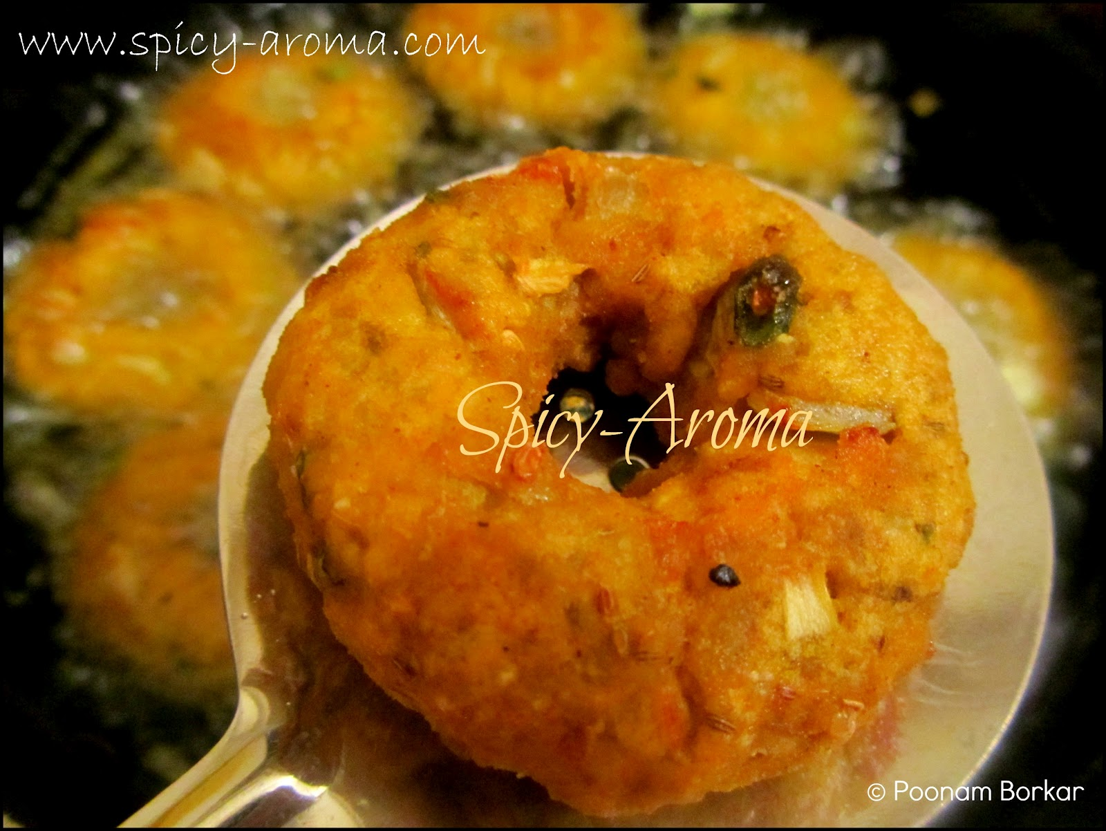 Poha Vada Recipe / Flattened Rice Fritter | Spicy-Aroma