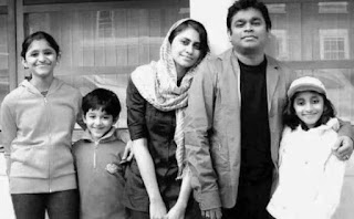 A.R. Rahman Family Wife Parents children's Marriage Photos