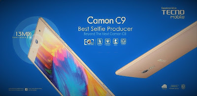 صور وسعر ومواصفات هاتف تكنو كامون C9