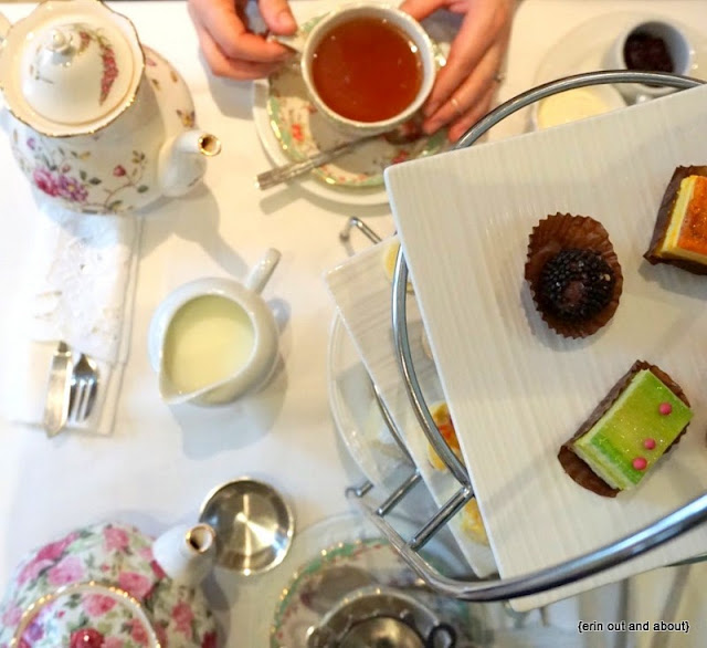 {Erin Out and About} Windsor Arms Hotel Afternoon Tea