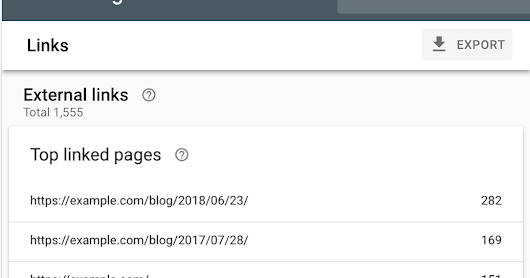 Links, Mobile Usability, and site management in the new Search Console