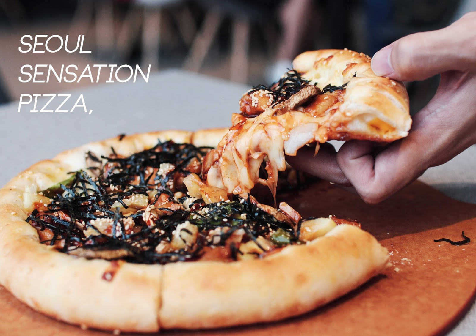 seoul sensation pizza, pizza hut, price