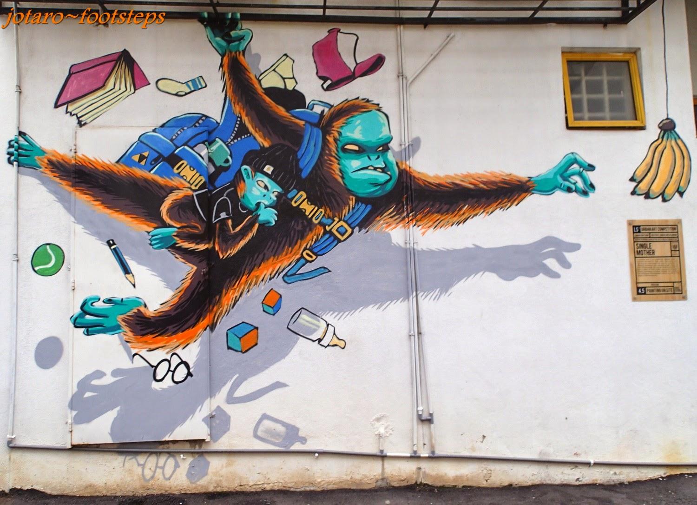 Footsteps jotaro 39 s travels art gallery balik pulau for 7 mural ipoh