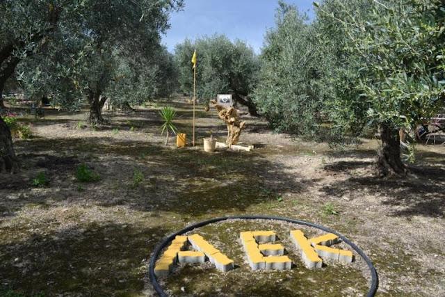 Το χωράφι ενός φανατικού Αεκτζή στα Χανιά (photos)