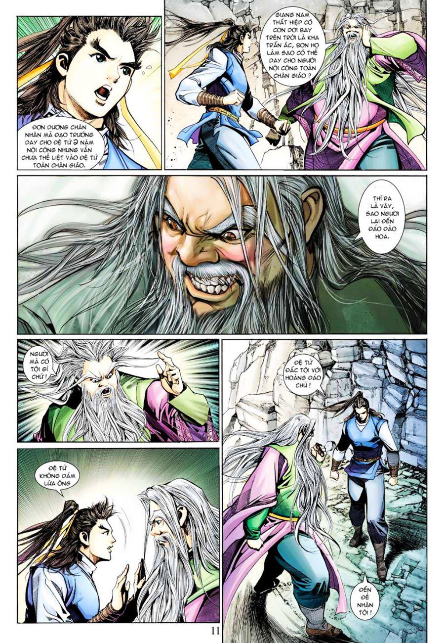 Anh Hùng Xạ Điêu anh hùng xạ đêu chap 40 trang 11