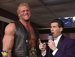 WWF / WWE - Todd Pettengill interviews WWF Champion Sid