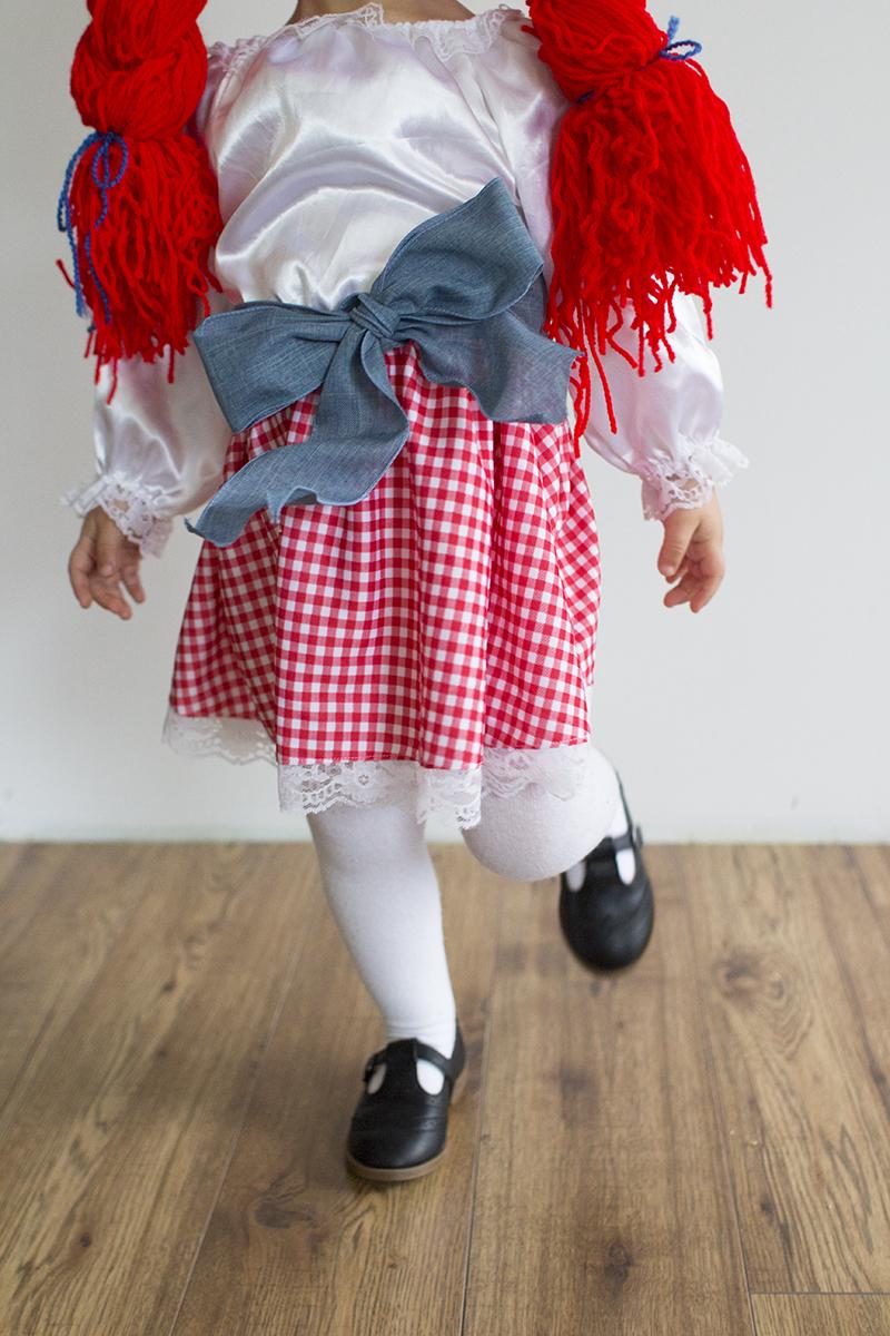 Raggedy Ann Doll Toddler Costume