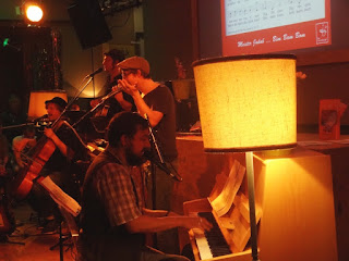 25.09.2015 Dortmund - Schauspielhaus: The Mundorgel Project w/Tommy Finke, Pele Caster, Daniel Brandl, Hannes Weyland