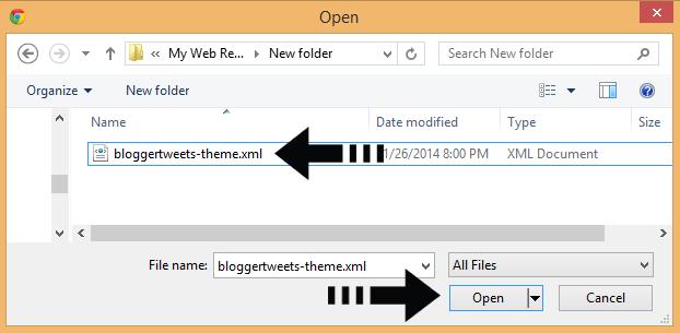 template file