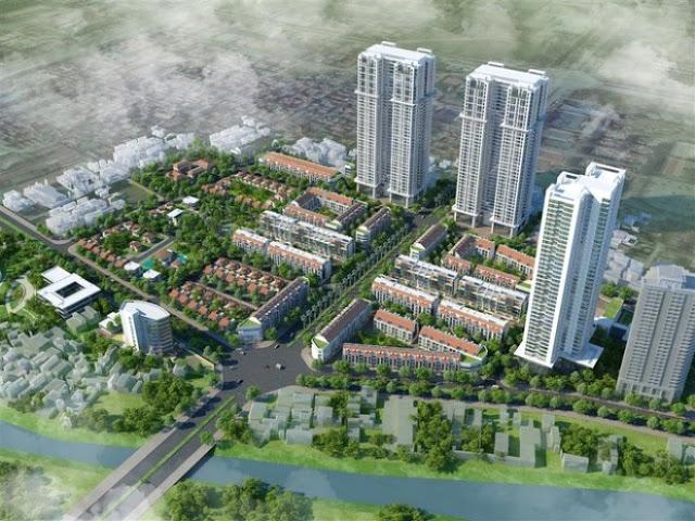 Dự án biệt thự chung cư Vinhomes Green City Mỹ Đình