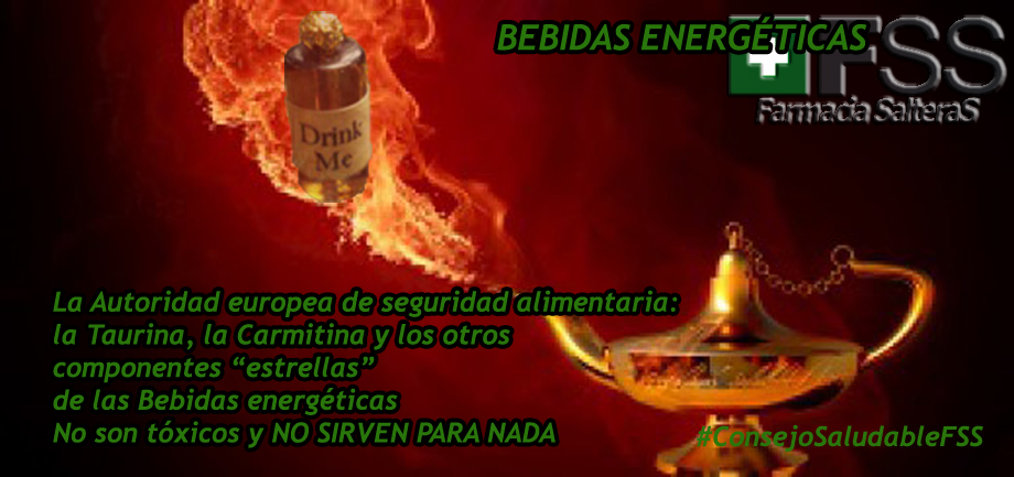 La Panacea Universal. Bebidas energéticas.