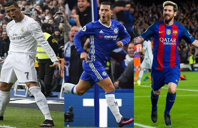 Legenda Bek Chelsea Klaim Eden Hazard Layak Disejajarkan Dengan Cristiano Ronaldo Dan Lionel Messi