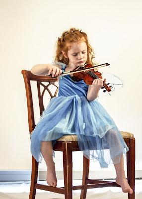 música violín niños