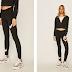 Nike Sportswear - Colanti dama negri lungi pentru fitness ieftini moderni