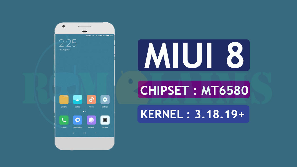 MT6580] [6 0 1] MIUI 8 v8 6 0 Rom For Symphony P7 - HeroDroid