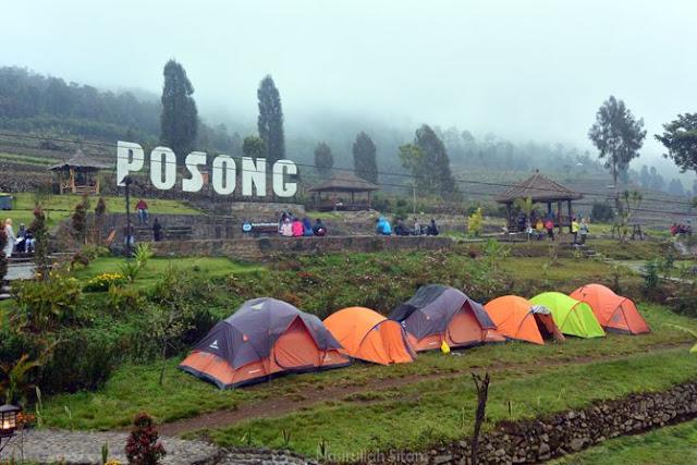 Pengalaman camping di wisata alam Posong