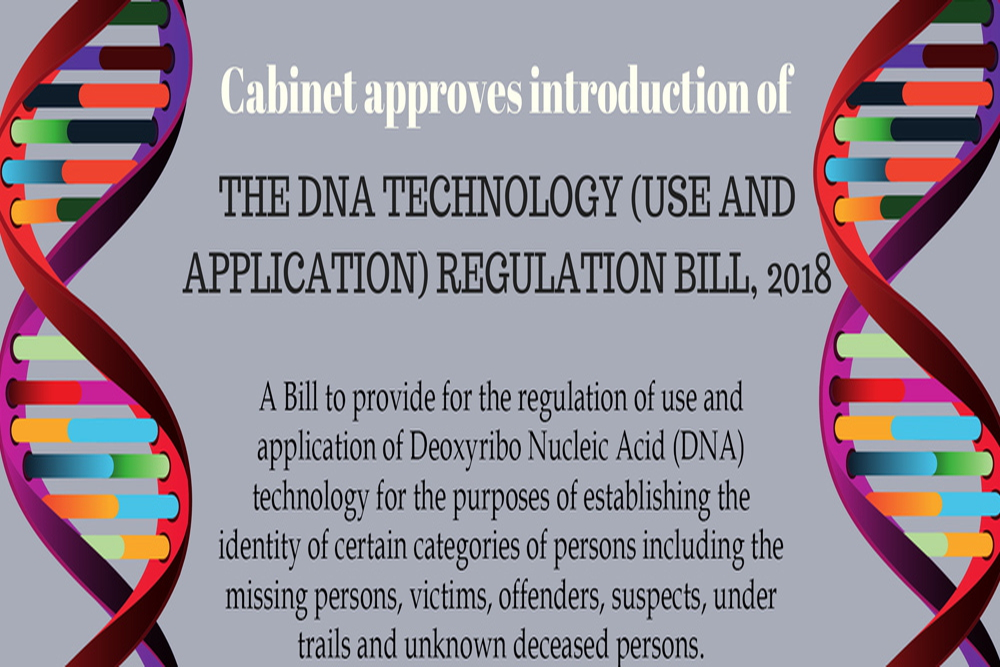 DNA Tech Reg Bill