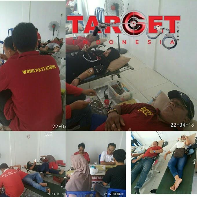 Group Medsos WPK Bersama PMI Kabupaten Pati Adakan Amal Bakti Sosial Donor Darah