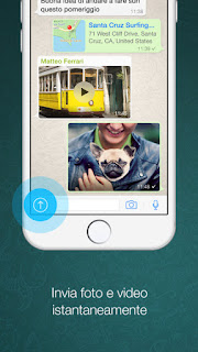 WhatsApp Messenger l'app si aggiorna alla vers 2.12.17