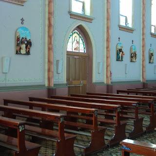 Via Crucius na Igreja Matriz de Bom Jesus