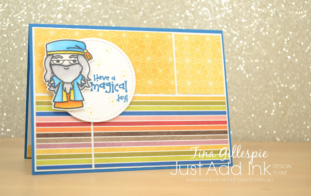 scissorspapercard, Stampin' Up!, Sweet Stamp Shop, Birthday Memories DSP, Just Add Ink
