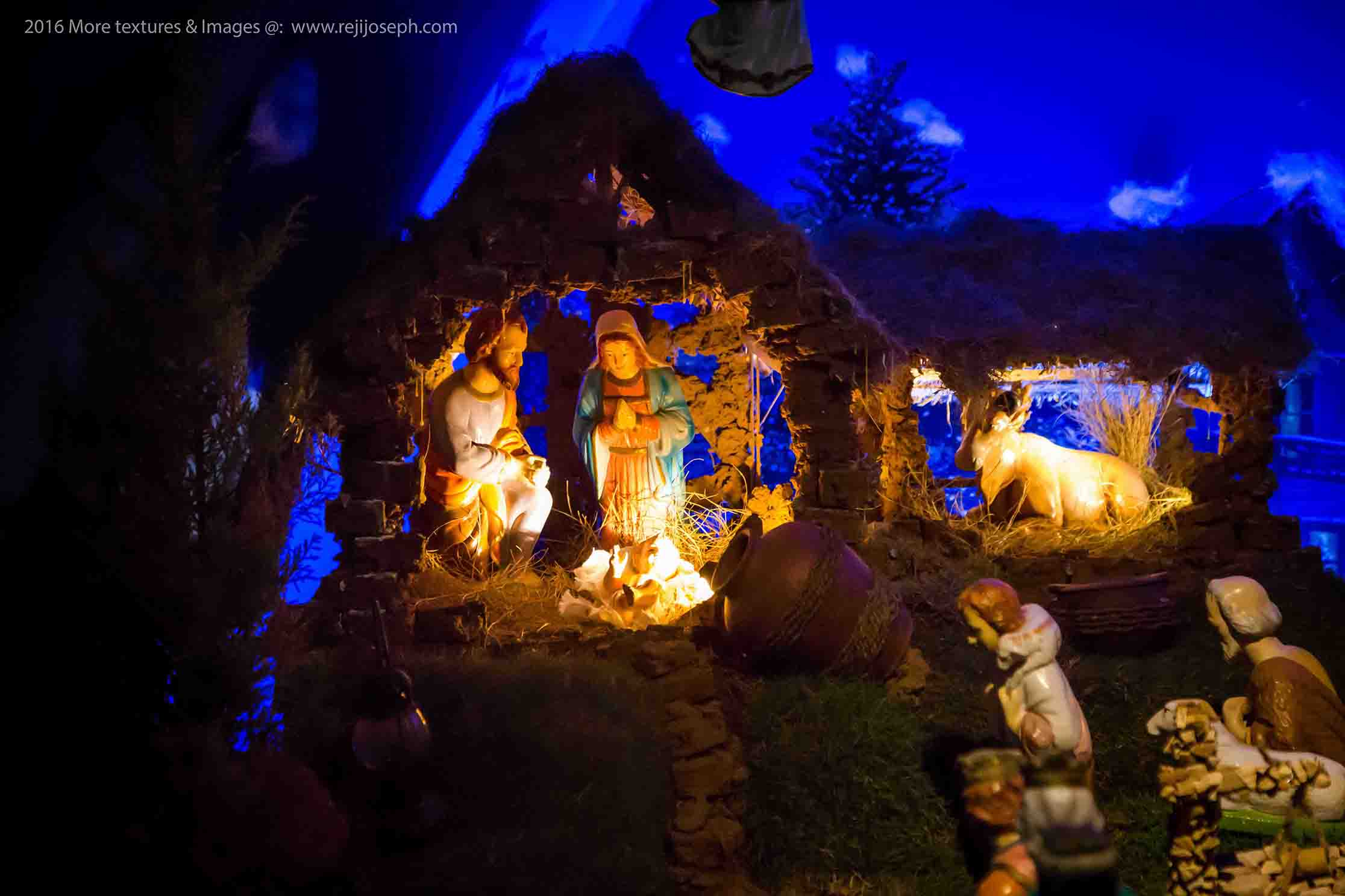 Christmas crib Pulkoodu St. George Forane Church Edappally 00015