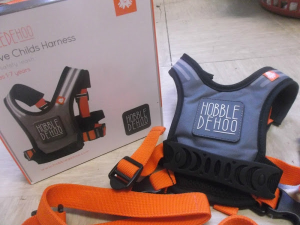 Hobbledehoo - The Active Child's Harness {Review}