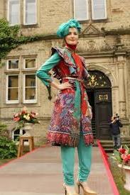 Model Baju Muslim batik Kerja Dian Pelangi terbaru
