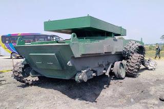 Tahap Pengujian Tank Medium Pindad