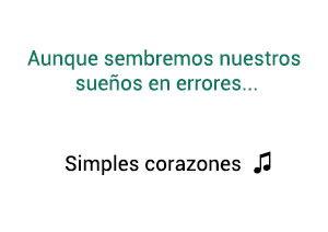 Fonseca Melendi Simples Corazones significado de la canción.