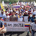 Rachid Yasbek: Guayana marchó entre lacrimógenas, Perdigones y el cañón de agua